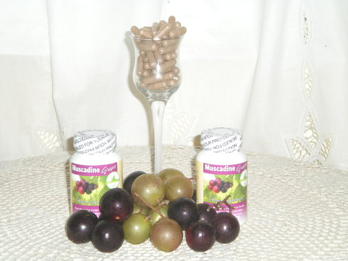 Muscadine Grape Skin Capsules