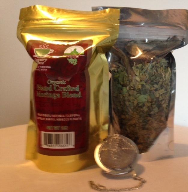 1 Oz Loose Moringa Tea Blend