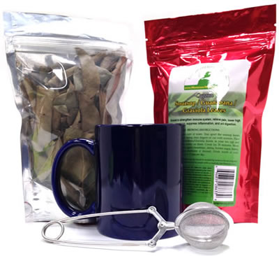 Soursop Tea Leaves
