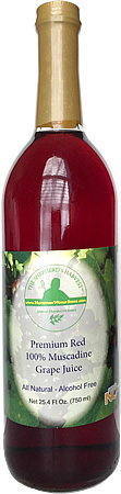 Muscadine Grape Juice
